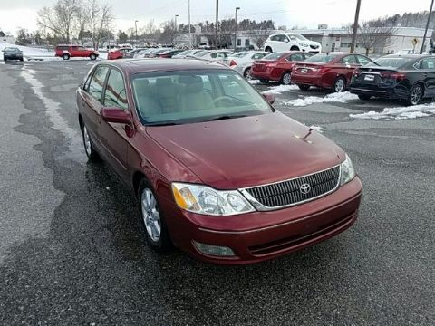 Pre-Owned 2002 Toyota Avalon 4DR SDN XLS W/BUCKET SEATS FRONT WHEEL DRIVE sedan