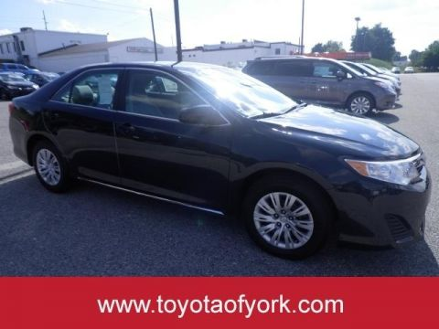 Certified Pre-Owned 2014 Toyota Camry LE FRONT WHEEL DRIVE sedan