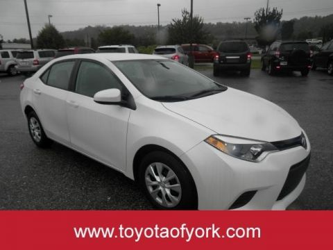 Pre-Owned 2014 Toyota Corolla ECO FRONT WHEEL DRIVE sedan