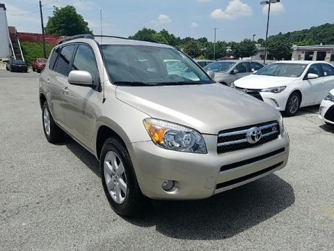Pre-Owned 2007 Toyota RAV4 4WD 4DR V6 LIMITED FOUR WHEEL DRIVE suv